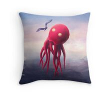 Birdwatcher Throw Pillow