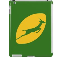 Rugby South Africa iPad Case/Skin