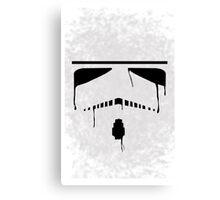 Wet Paint Stormtrooper Canvas Print