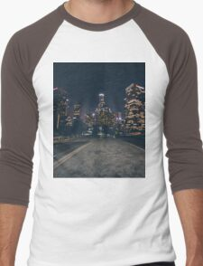 Los Angeles Night Men's Baseball ¾ T-Shirt