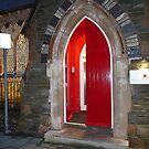 The Red Door by Fara