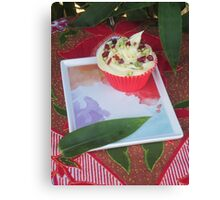Bamboo and Cupcakes Canvas Print