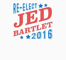 Re-Elect Jed Bartlet 2016 - Tricolor Unisex T-Shirt