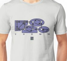 """Strongly Connected Components Algorithm - PURPLE""© Unisex T-Shirt"