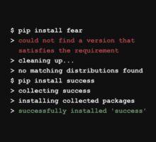 pip install success by Hackbright