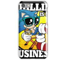 Chillin' Business iPhone Case/Skin