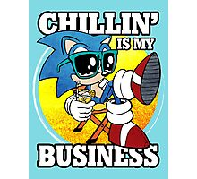 Chillin' Business Photographic Print