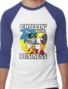 Chillin' Business Men's Baseball ¾ T-Shirt