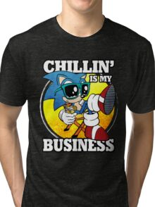 Chillin' Business Tri-blend T-Shirt