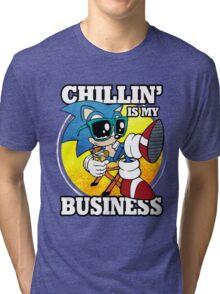 Chillin' Business Tri-blend T-Shirt
