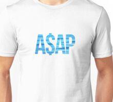 ASAP A$AP OCEAN BEACH DARK BLUE LIGHT BLUE Unisex T-Shirt