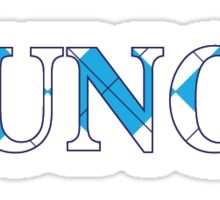 Argyle UNC  Sticker