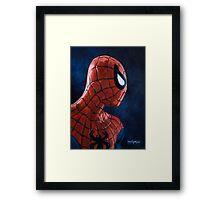 Spiderman! Heroic Profiles #1 Framed Print