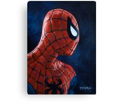 Spiderman! Heroic Profiles #1 Canvas Print