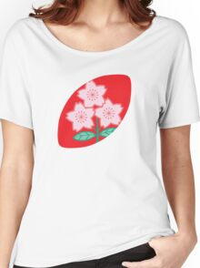 Rugby Japan Women's Relaxed Fit T-Shirt
