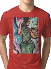 green queen  Tri-blend T-Shirt