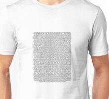 Neon Genesis Evangelion Episode 1 Script Unisex T-Shirt