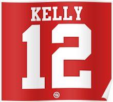Chin Ho Kelly football jersey 12 Poster