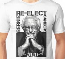 Re-Elect Bernie Sanders 2020 - Portrait Unisex T-Shirt