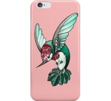 simple hummingbird iPhone Case/Skin