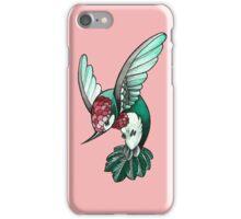 simple hummingbird iPhone Case/Skin