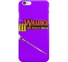 The Legend of Waluigi: Wah Force Hero iPhone Case/Skin