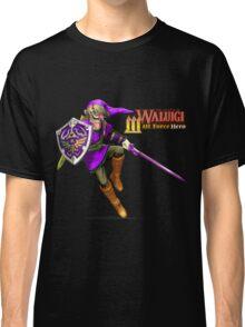 The Legend of Waluigi: Wah Force Hero Classic T-Shirt
