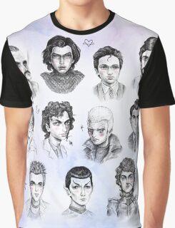 My Science Fiction Boyfriends Graphic T-Shirt