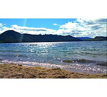 Taupo Lake Photographic Print
