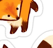 Fox trot Sticker