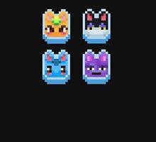 Animal Crossing pixel cats Unisex T-Shirt