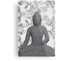 Seated Buddha Metal Print