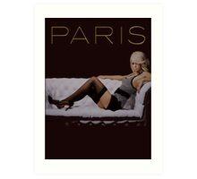 Paris IN THIS WORLD Art Print