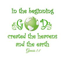 Earth Day - In The Beginning... by Jenn Graham