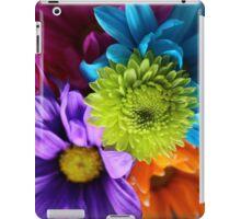 Multi-Colored Flowers iPad Case/Skin