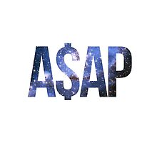 ASAP A$AP BLUE AND BLACK NEBULA by SourKid