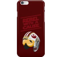 Star Wars - Rebel With a Cause  iPhone Case/Skin