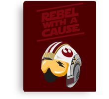 Star Wars - Rebel With a Cause  Canvas Print