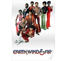Earth, Wind and Fire - Maurice White Tribute Poster