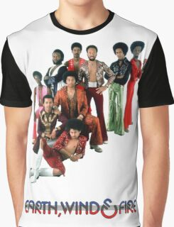 Earth, Wind and Fire - Maurice White Tribute Graphic T-Shirt