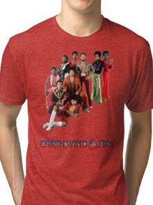Earth, Wind and Fire - Maurice White Tribute Tri-blend T-Shirt