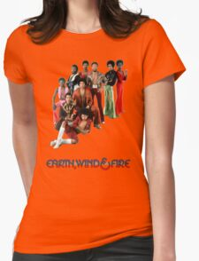 Earth, Wind and Fire - Maurice White Tribute Womens Fitted T-Shirt
