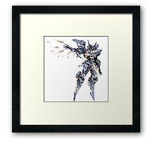 Zone of the Enders - Jehuty Framed Print