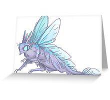 bug dragon Greeting Card