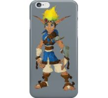 Jak Low poly White lines version  iPhone Case/Skin