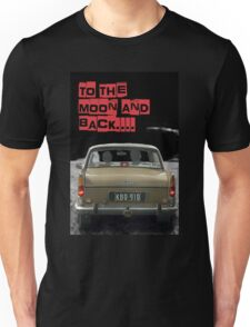 to the moon and back.... Valentine's - by Anne Winkler Unisex T-Shirt