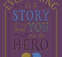 Everything is a Story | Carry On by DesignsByAND