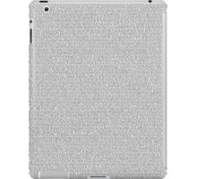 Toy Story 2 [Script] iPad Case/Skin