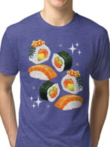 Sushi platter Tri-blend T-Shirt