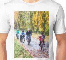 Family Bike Ride Unisex T-Shirt